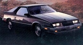 1985 Dodge Daytona Turbo