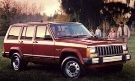 1985 Jeep Cherokee Chief Pioneer