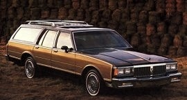 1985 Pontiac Parisienne Safari Wagon