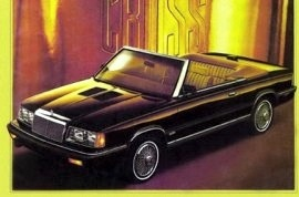 1986 Chrysler LeBaron Mark Cross Convertible
