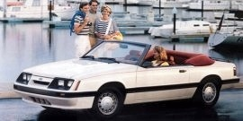 1986 Ford Mustang LX Convertible