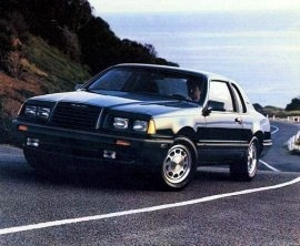1986 Ford Thunderbird Turbo