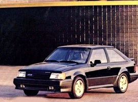 1987 Mercury Lynx XR3