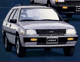 1989 Dodge Colt Wagon