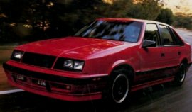 1989 Dodge Lancer Shelby