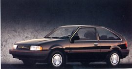 1989 Mercury Tracer Hatchback