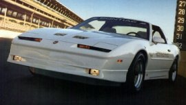 1989 Pontiac Firebird Trans Am GTA Pace Car