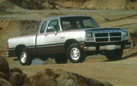 1991 Dodge Ram 150 LE Extended