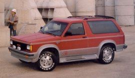 1991 GMC Jimmy S15