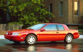 1991 Mercury Cougar XR7