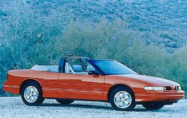 1991 Oldsmobile Cutlass Supreme Convertible