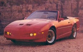 1991 Pontiac Firebird Trans Am Convertible