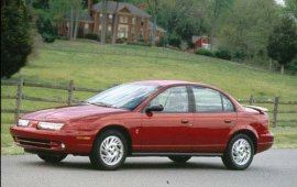 1998 Saturn S-Series SL2 Sedan
