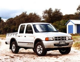 2000 Ford Courier Crew Double Cab