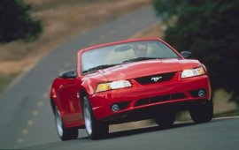 2000 Ford Mustang SVT Cobra Convertible