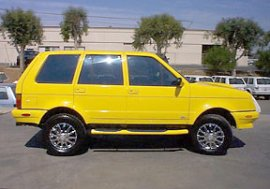 2000 Laforza 4x4 No Fear Edition
