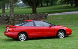 2000 Saturn S-Series SC2 Coupe
