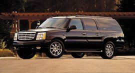 2005 Cadillac Escalade ESV with Canepa Conversion