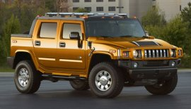 2007 Hummer H2 SUT Fusion