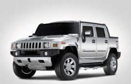 2008 Hummer H2 Silver Ice Edition