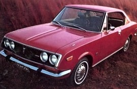 1971 Toyota Corona Mark 2 Hardtop 2 Door