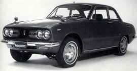1972 Isuzu Bellett 1800 GT Coupe