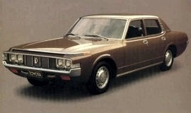 1971 Toyota Crown 2600 4 Door