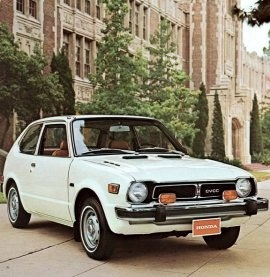 1976 Honda Civic CVCC