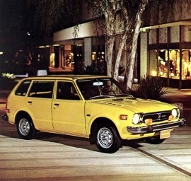 1976 Honda Civic CVCC Wagon
