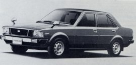 1980 Toyota Sprinter 1500 SE Sedan