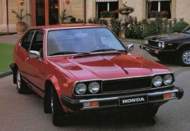 1981 Honda Accord EX Hatchback