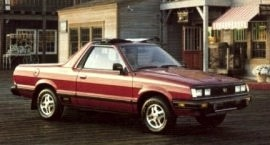 1984 Subaru Brat and Brumby