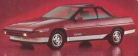1985 Subaru XT Turbo