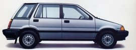 1987 Honda Civic 4WD Wagon
