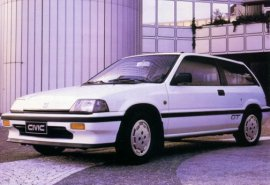 1987 Honda Civic GT