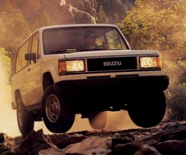 1987 Isuzu Trooper
