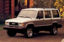 1987 Isuzu Trooper 1.8i