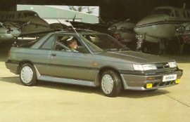 1987 Nissan Sunny ZX Coupe