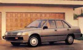 1988 Mitsubishi Mirage 4-Door