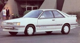 1989 Subaru RX Turbo 3-Door Coupe
