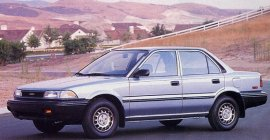 1989 Toyota Corolla All-Trac Sedan