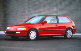 1991 Honda Civic Si Coupe