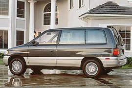 1991 Mazda MPV with Lucury Package
