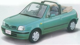 1997 Nissan March Convertible
