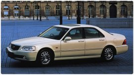 2001 Honda Legend Exclusive