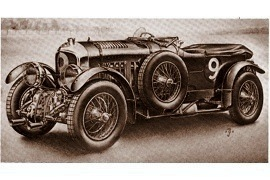 1930 Bentley 4 ½ Litre