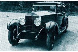 1930 Rolls-Royce 20/25 HP with Four-Door Four-light Saloon body