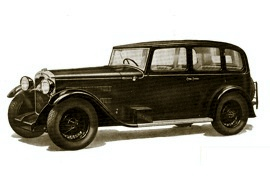1930 Rover Light Six