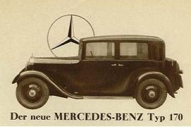 1931 Mercedes-Benz Type 170