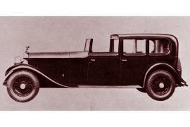 1931 RolIs-Royce Phantom II Sedan de Ville